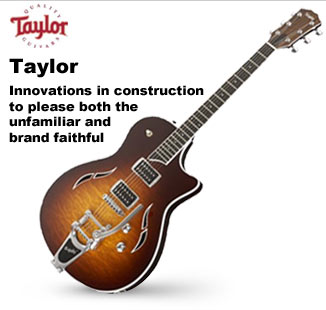 Taylor Hollowbody and Semi-Hollowbody Guitars