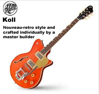 Koll Hollowbody and Semi-Hollowbody Guitars