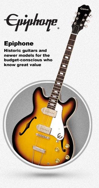 Epiphone Hollowbody and Semi-Hollowbody Guitars