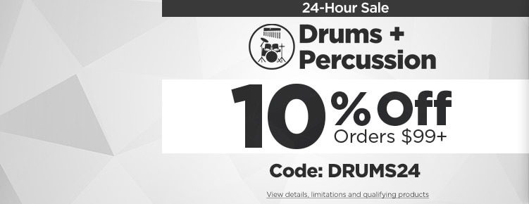 24Hour Drums Percussion Sale