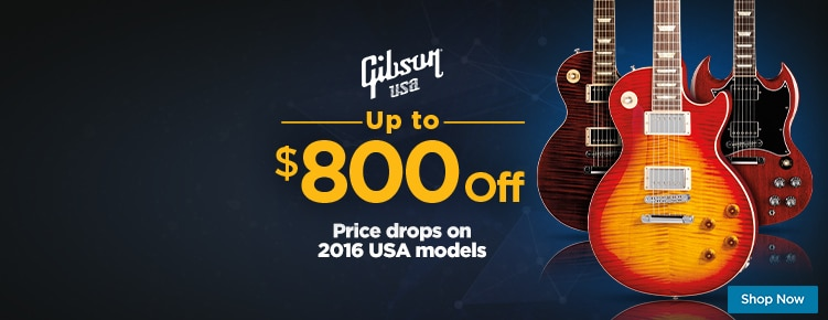 Gibson USA 2016 Price Drops