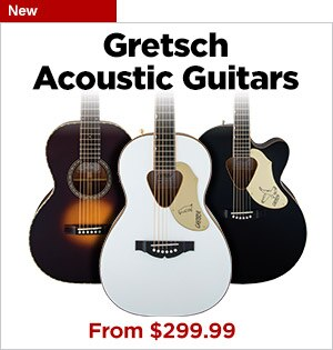 New Gretsch Acoustic Guitars
