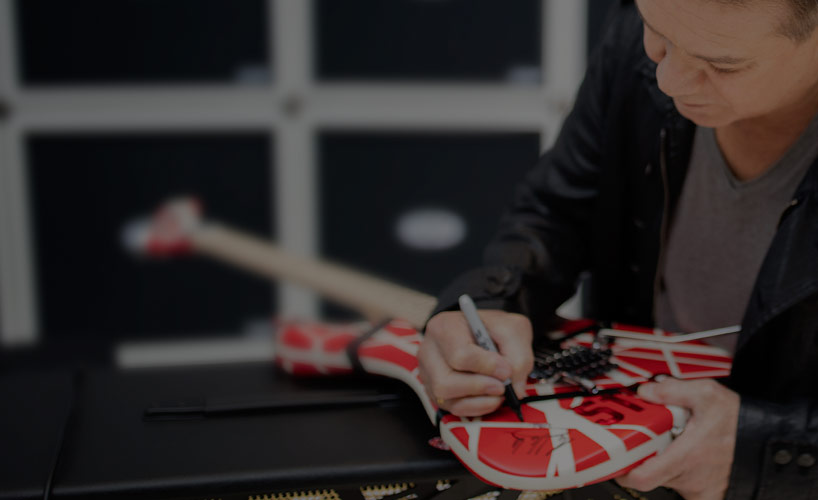 EVH Holiday Gift Sweepstakes: Your chance to win Eddie's gear