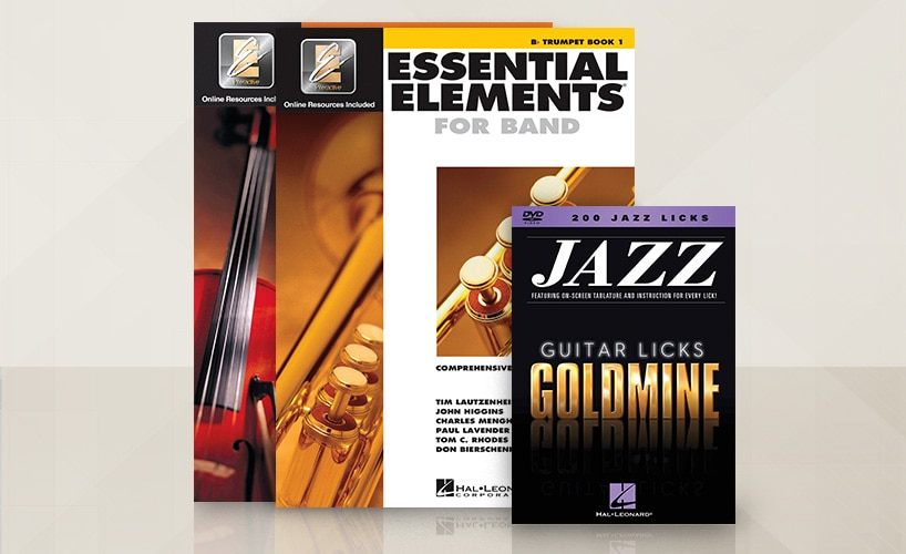 Hal Leonard Back to School Books