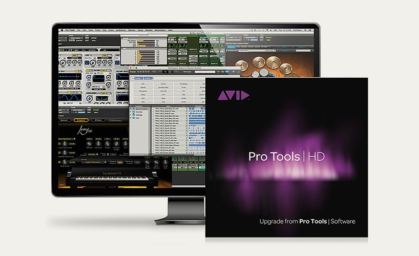 Pro Tools Software & Upgrades: Now available for digital download