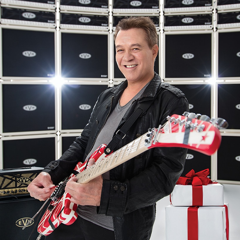 Eddie Van Halen: Tone for the Holidays - Exclusive interview, behind-the-scenes footage, sweepstakes and more