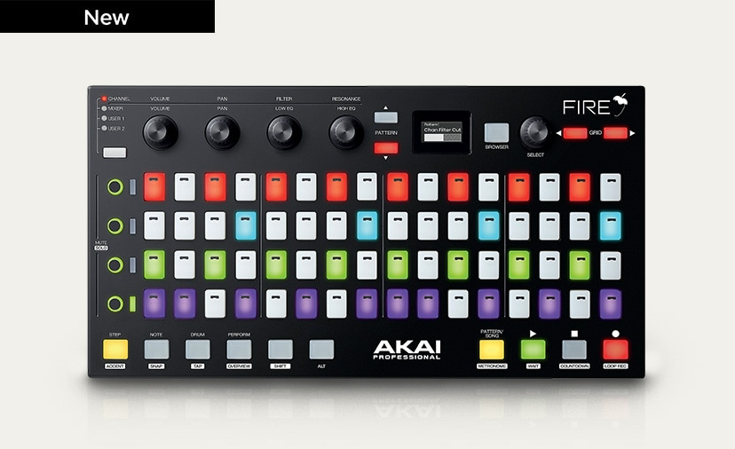 Introducing Akai's Fire Controller - Get hands on with FL Studio for the first time ever