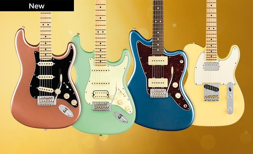 New Fender American Performer Series. Affordable U.S. - Made instruments with great new features and colors. Shop Now.