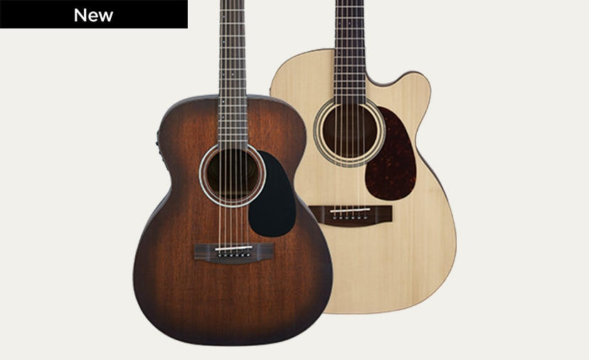 Mitchell Terra Series - Solid spruce and mahogany tops, Fishman electronics and more