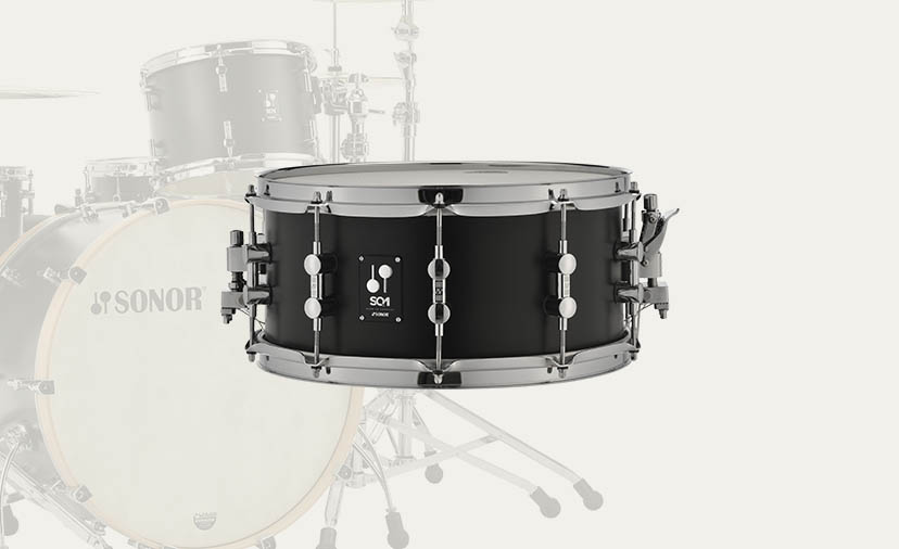 Free SONOR Matching Snare with the purchase of any SONOR SQ1 Shell Pack