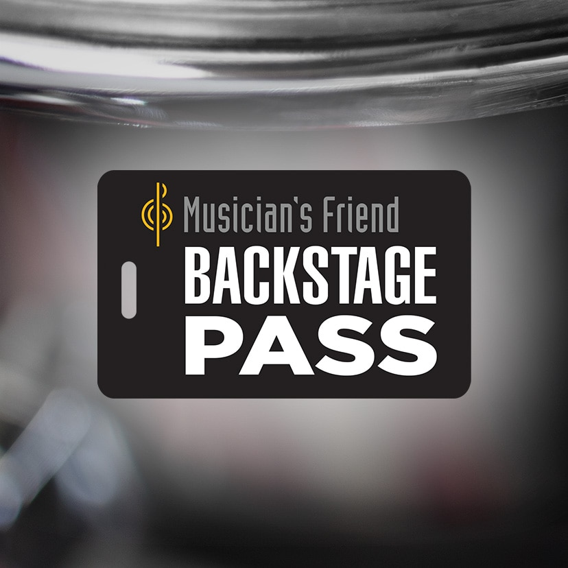 Muscian's Friend BACKSTAGE PASS