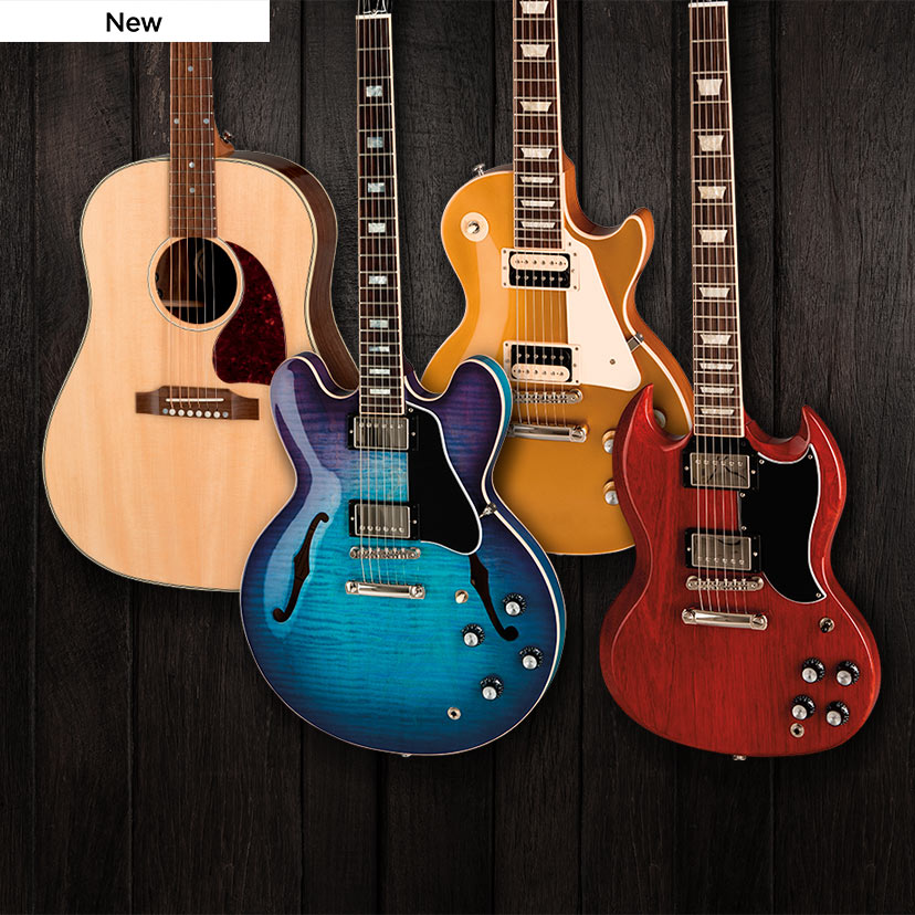 2019 Gibson Electrics and Acoustics