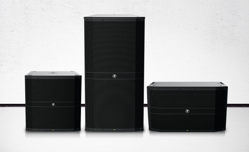 Take Your Music to the Masses. Play out more with new top-of-the-line Mackie DRM Series loudspeakers.