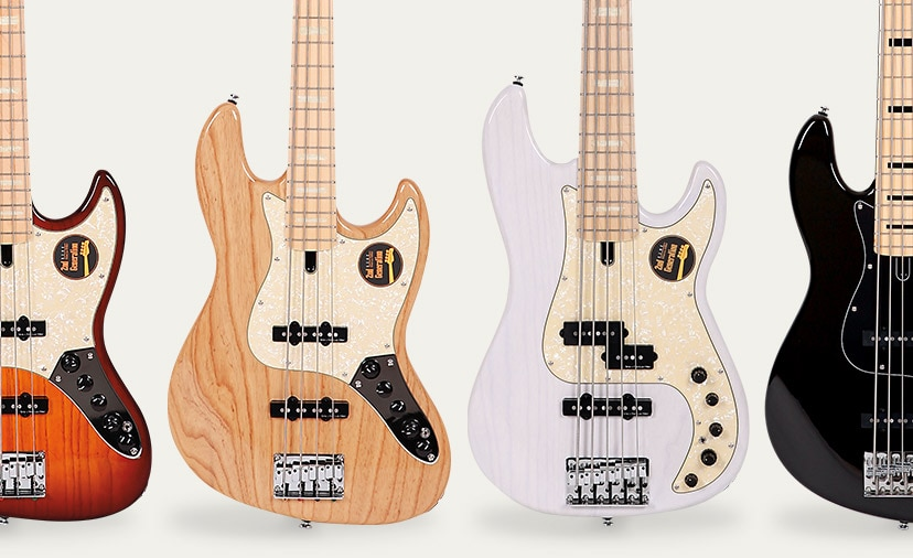 Get Down and Jam. High-end tone is amazingly affordable with Sire Marcus Miller basses