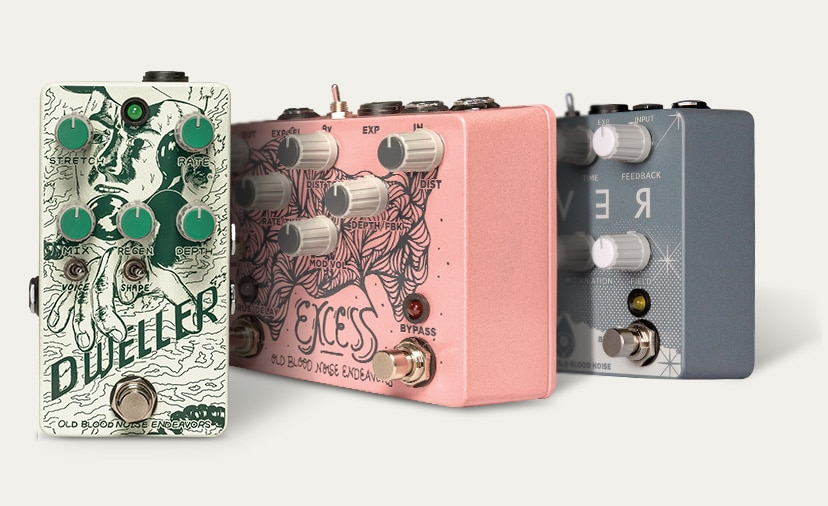 Play Out With Imagination. Musician's Friend welcomes Old Blood Noise Endeavors effects pedals