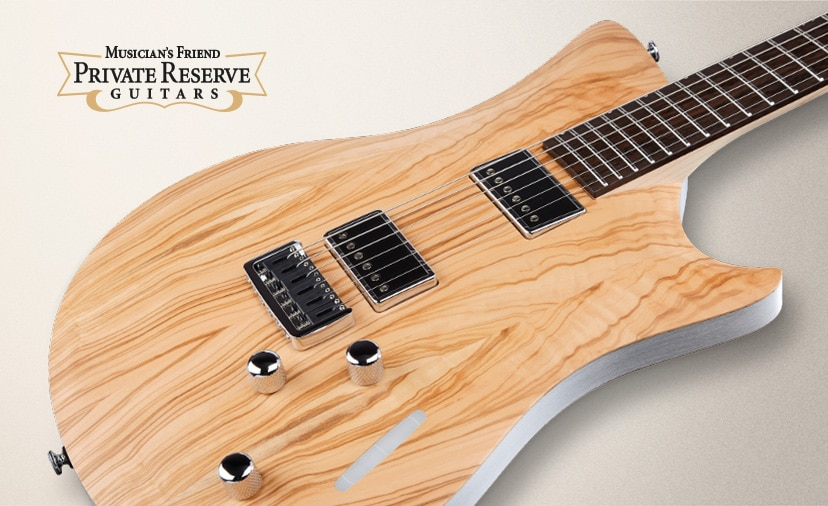 Musician's Friend Private Reserve Guitars A Collection Like No Other Kauer, Relish, Harmony, Newman, Dunable, Malinoski and L.S.L. Instruments