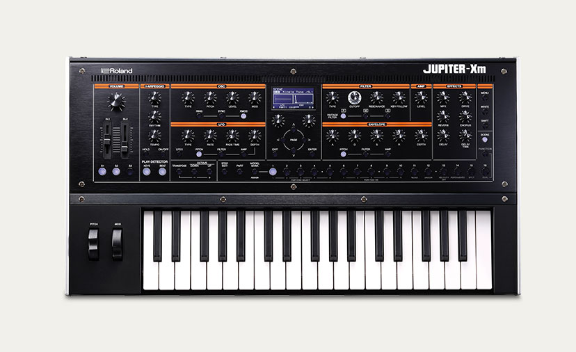 New Roland Jupiter Xm Keyboards Tiny powerhouses that load legendary sounds from the Roland Cloud