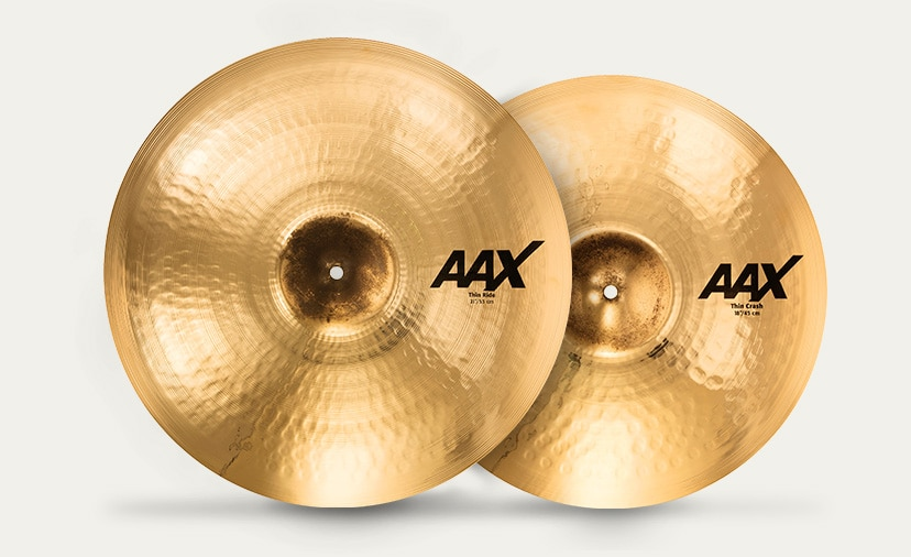 An Industry-Standard Sound Reborn. Explore all-new tones now available in SABIAN'S re-imagined AAX series