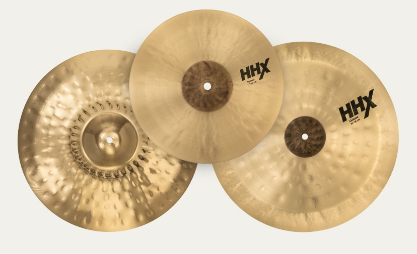 Sonically Unbeatable Get wise to H.H.X. Series cymbals and other premier Sabian cymbal packs