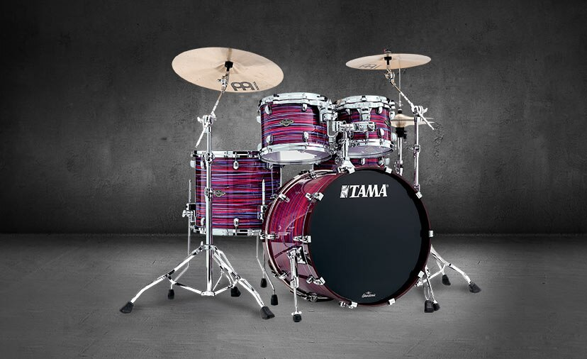 Play with more tone and attack. New TAMA Starclassic walnut/birch shells.