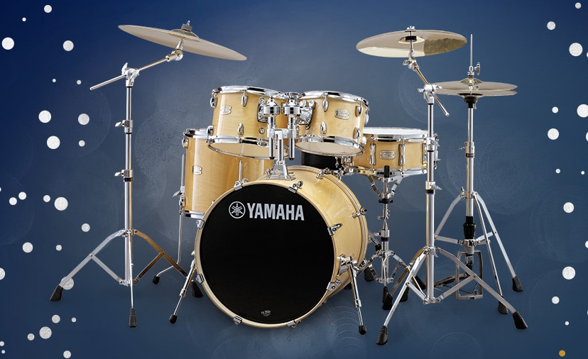 Yamaha Holiday Rebates. Check off the drummers on your list with select savings thru Dec. 31