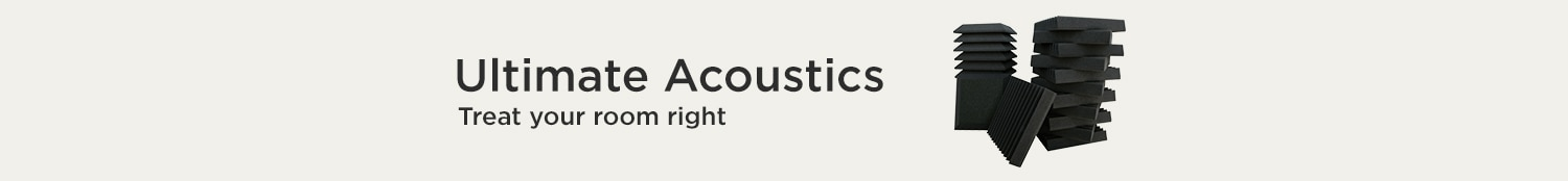 Ultimate Acoustics. Treat your room right.