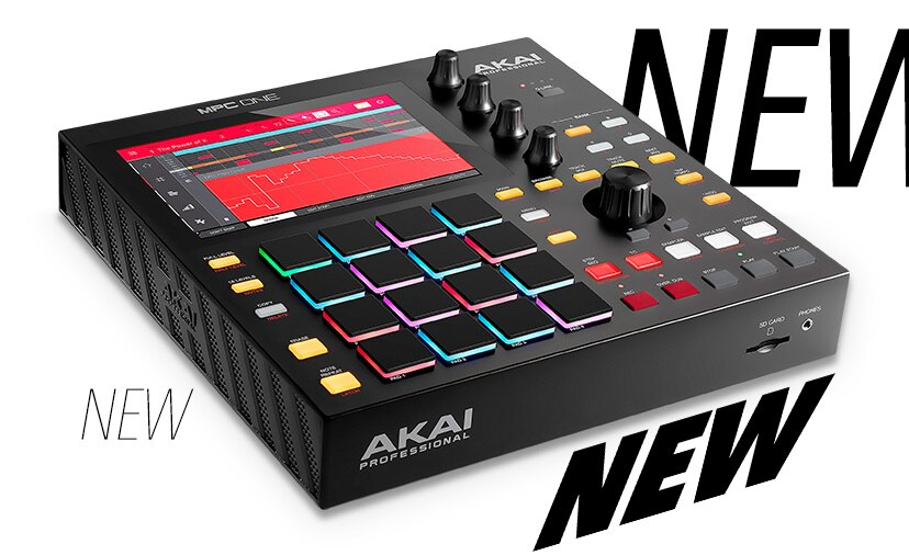 Breathtaking Beat Making - New standalone Akai M.P.C. One music production center In stock now get yours before they are gone