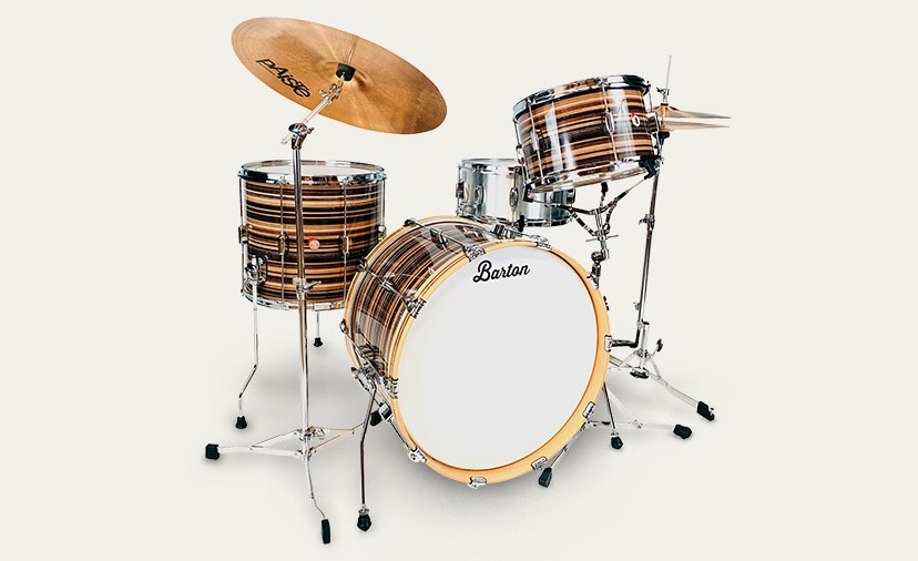 Barton Drums Have Arrived - Beautiful shell packs and snares, all at a great price Shop Now