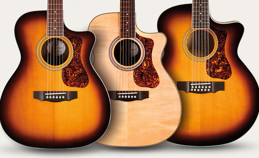 New Acoustic Guitars From Guild - Three Stunning Models From a Legendary Maker