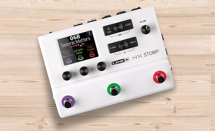 Limited-edition Line 6 HX Stomp - The Stomptrooper is here to rescue your rig. Price drop available on the standard model