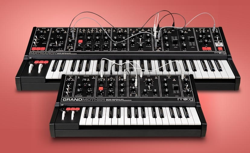 Moog Matriarch and Grandmother Dark Series - The Same Inspiring Synths in New, Sleek Black Finishes