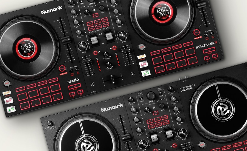 New Mixtrack F X Controllers from Numark - Professional controllers packed with new F X , all at an affordable price