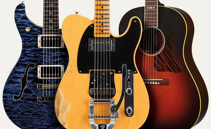 Musician's Friend Private Reserve Guitars - Always the Finest, Always for You