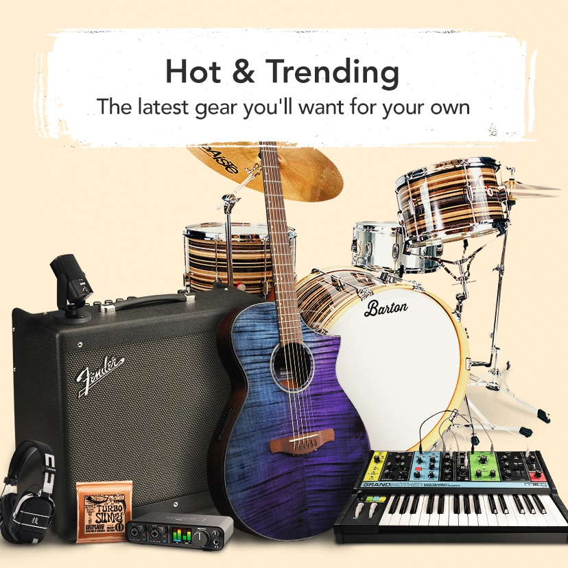 Hot and Trending The latest and greatest gear you'll want for your own