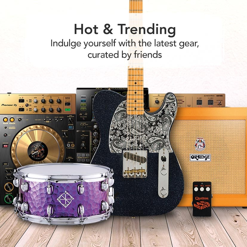 Hot and Trending - Indulge yourself with the latest gear, curated by friends