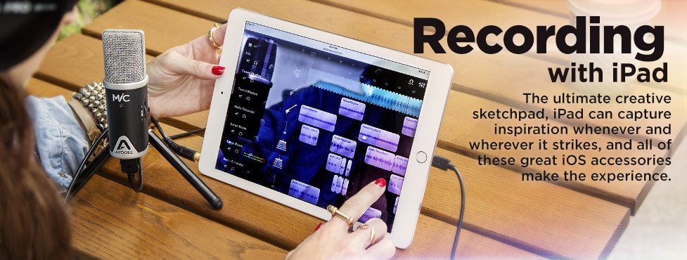 Recording with iPad