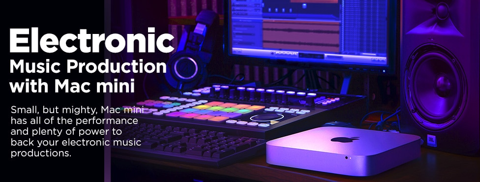 Electronic Music Production with Mac mini