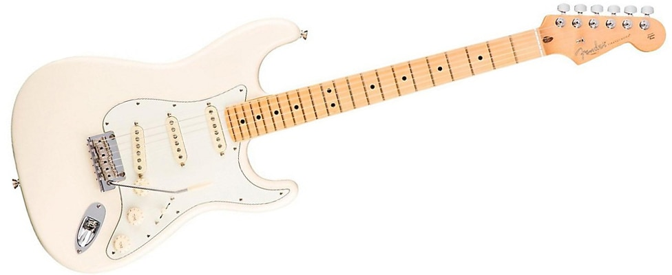 Fender American Professional Stratocaster Maple Fingerboard Olympic White