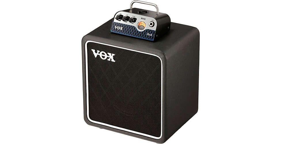 VOX MV50CR and 1x8 speaker cab offer 50 watts of classic rock tone