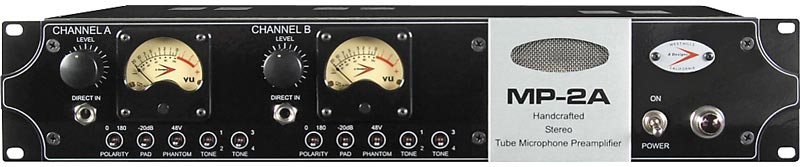 A Designs MP-2A Tube Mic Preamp