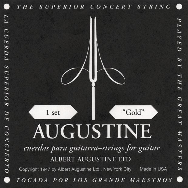 Augustine Gold Label Classical Guitar Strings