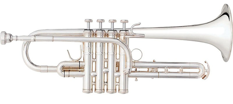 BS 3117JH Challenger II Custom Series Eb/E Trumpet Silver