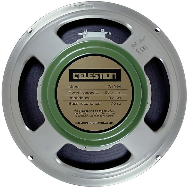 Celestion G12M Greenback Replacement Speaker Back