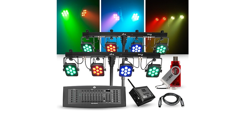How To Choose the Best Band and DJ Lighting and Stage ... A Schematic Diagram Inside Par on
