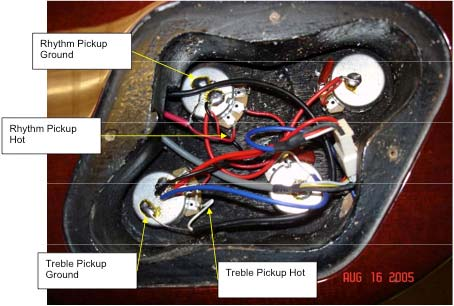 tech tip how to install gibson pickups in epiphone guitars the hub un er and remove epiphone pickup wires
