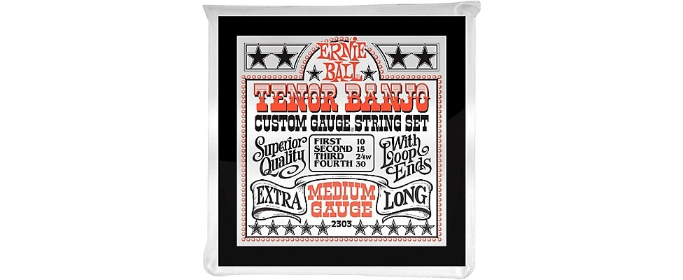 Ernie Ball Medium Gauge Tenor Banjo Strings