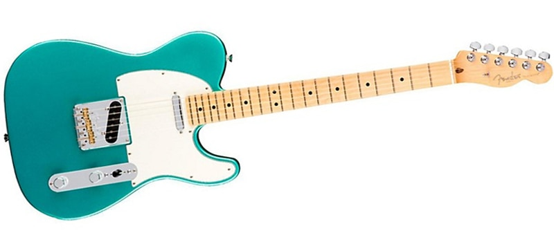 Fender American Professional Telecaster Maple Fingerboard Electric Guitar  Mystic Seafoam