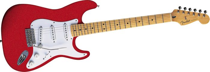 Fender Artist Series Jimmie Vaughan Tex-Mex Stratocaster Red