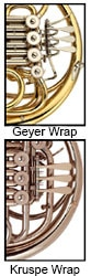 French Horn Wrap Chart