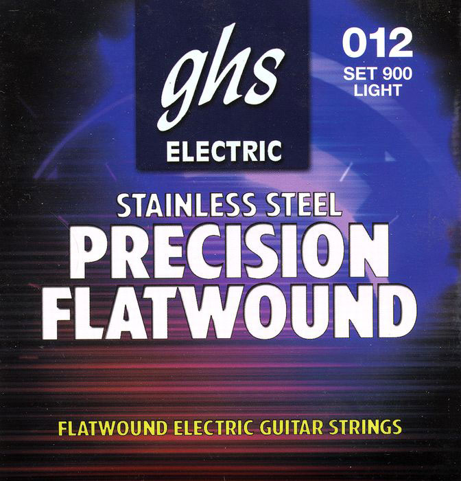 GHS Precision Flatwound Electric Guitar Strings